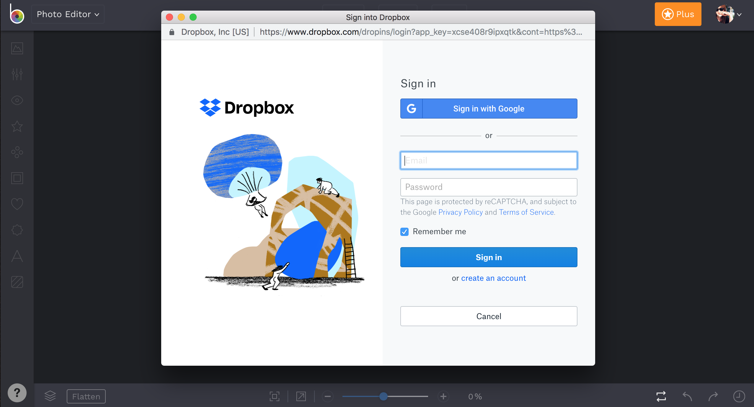 Open With Dropbox